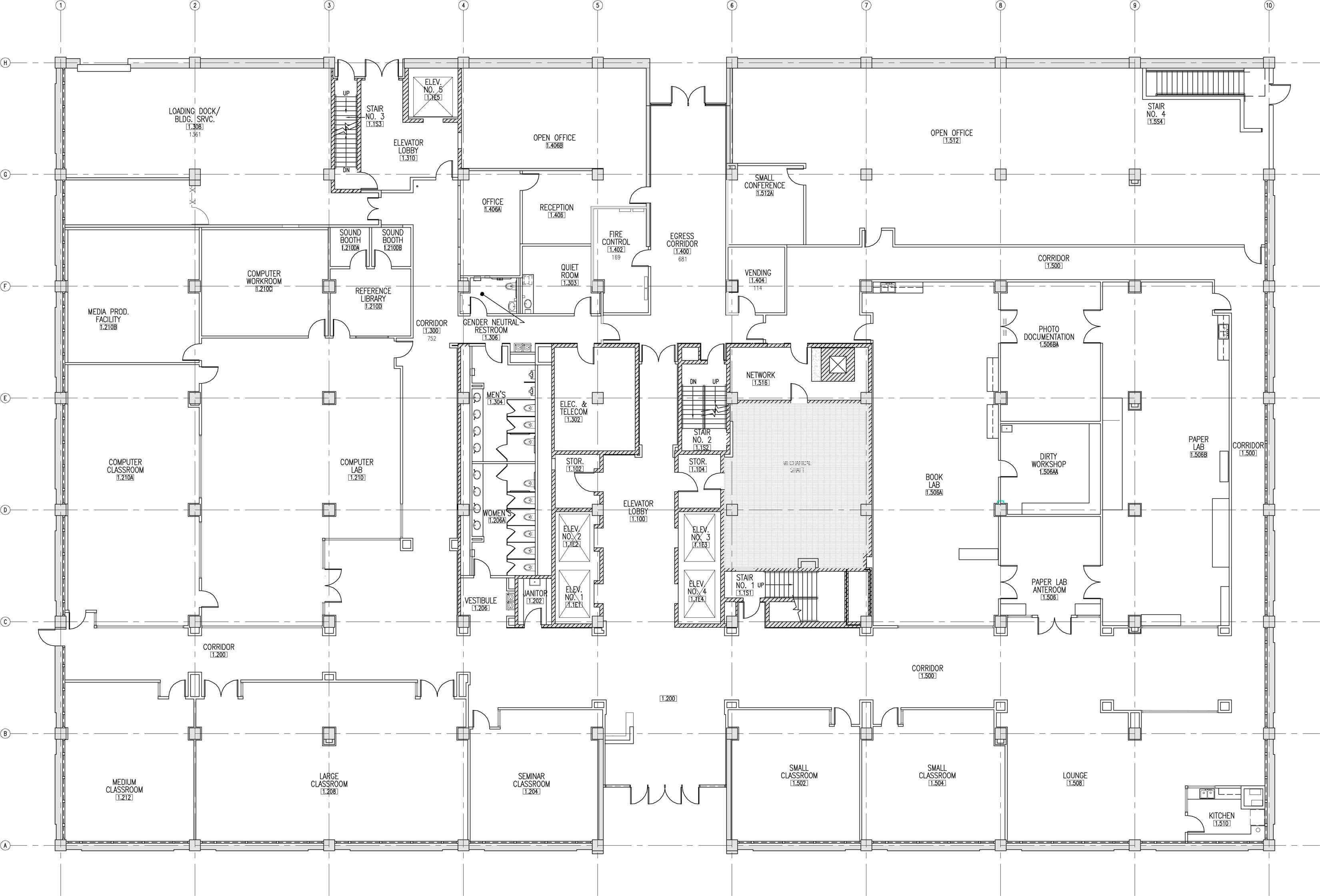 floor map: