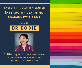 Bo Xie Receives FIC Instructor Learning Community Grant