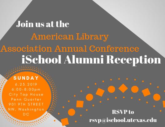 ALA iSchool Alumni Reception Invitation