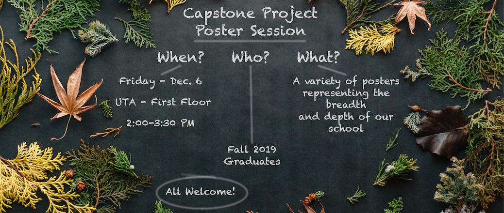 Fall Capstone Poster Session