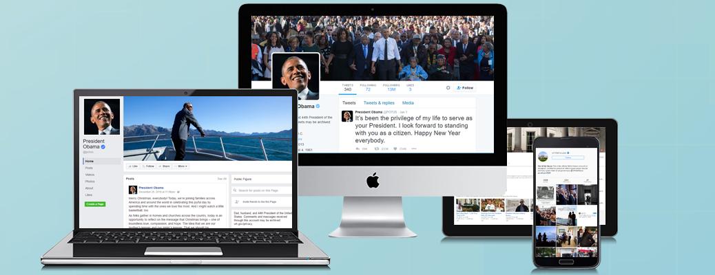White House social media