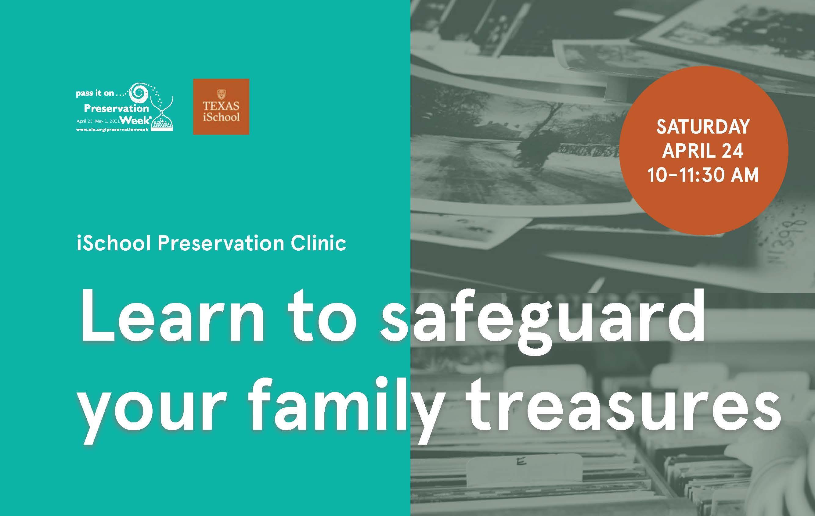 iSchool Preservation Clinic
