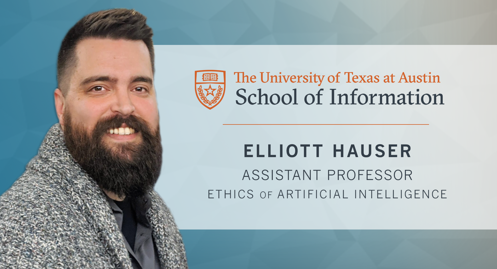 Elliott Hauser, Assistant Professor, Ethics of Artificial Intelligence