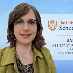 University of Texas iSchool, Sarah Norris, Library and Archives - Conservation and Preservation