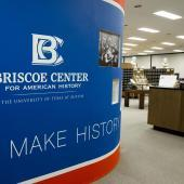 Interior of the Dolph Briscoe Center for American History