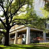 Exterior of the Harry Ransom Center at the University of Texas at Austin