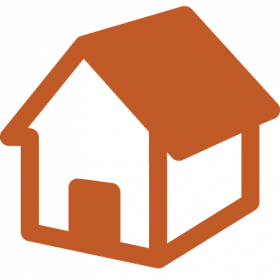 Icon of simple house